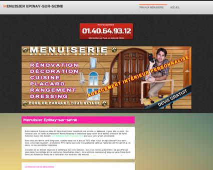 Atelier Menuisier Epinay-sur-seine  ...
