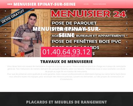 Menuisier Epinay-sur-seine, departement 93...
