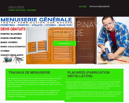 Menuisier Epinay-sur-orge - Essonne -...