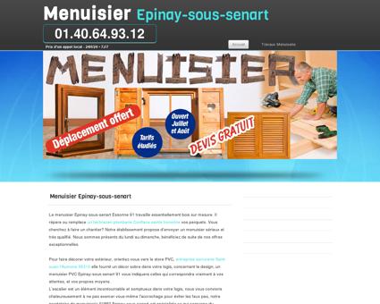 Société Menuisier Epinay-sous-senart,...