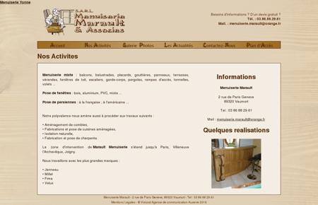Menuiserie Marault Yonne, meubles en bois,...