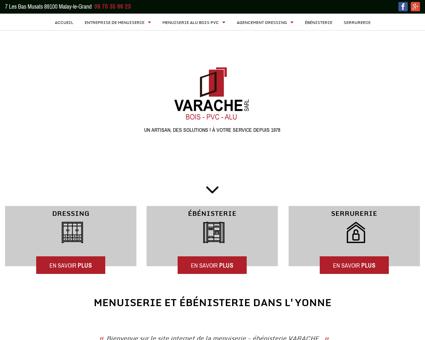 Menuiserie Sens - SARL VARACHE :...