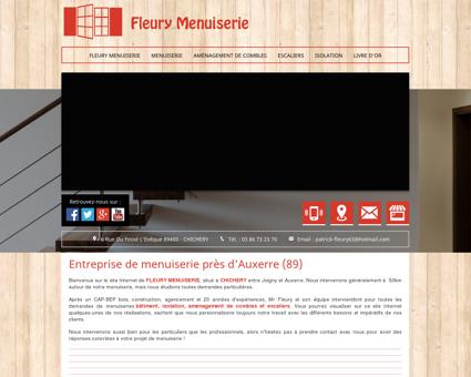 Menuiserie 89 - FLEURY MENUISERIE :...