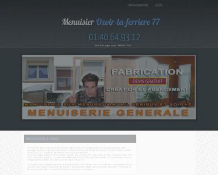Artisan Menuisier Ozoir-la-ferriere - service de...