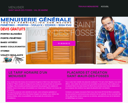 Comparateur De Services De Menuiserie Plaquiste De Fosses - Porte placard coulissante avec serrurier saint maur des fosses