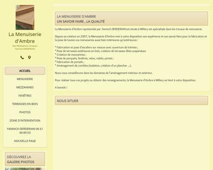 Menuiserie (entreprises) - La Menuiserie...
