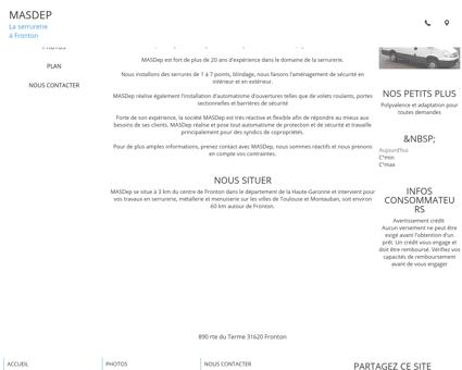 MASDep à Fronton dans la Haute-Garonne (31)