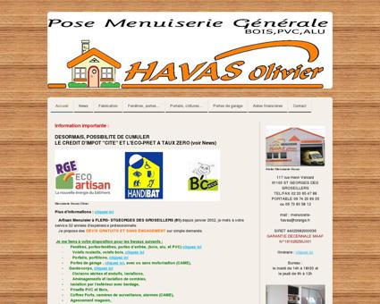 MENUISERIE HAVAS OLIVIER 61100 FLERS -...