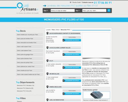 Menuisier PVC Flers 61100