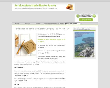 Menuiserie Juvigny - 74100 au 09 77 76 87 74