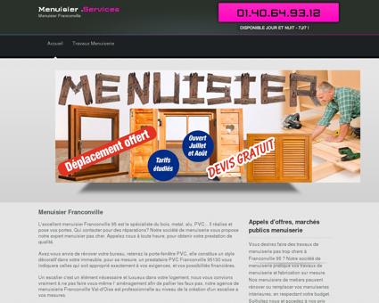 Atelier Menuisier Franconville, departement 95...
