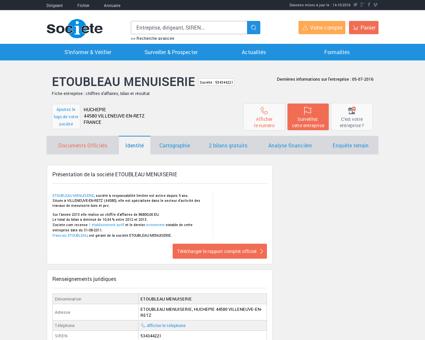 ETOUBLEAU MENUISERIE (FRESNAY EN RETZ)...