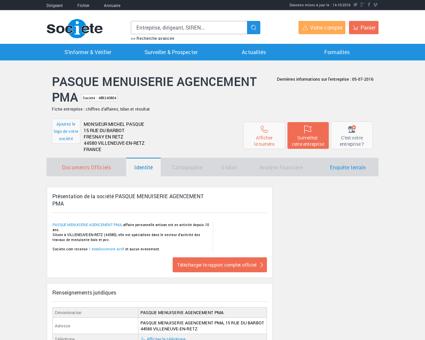 PASQUE MENUISERIE AGENCEMENT PMA...