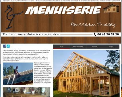 Menuiserie-Menuisier Rousseaux faverolles...