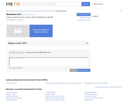 GNC MENUISERIE Gonfreville l'Orcher (76700),...