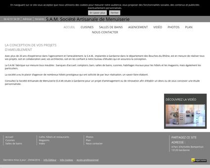 S.A.M. Société Artisanale de Menuiserie