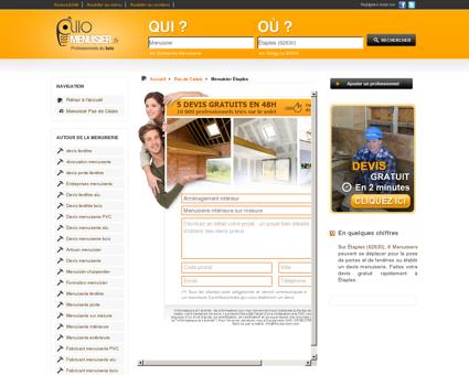 Menuisier Étaples 62630 - Menuisier -...