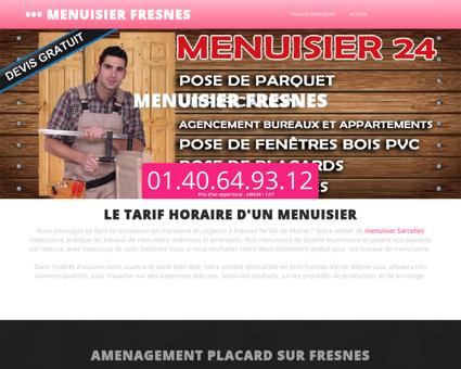 Menuiserie & Menuisier Fresnes Menuiserie...