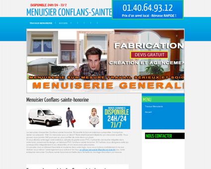 Société Menuisier Conflans-sainte-honorine...