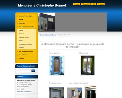 Menuiserie Christophe Bonnet - Menuisier à...