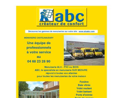MENUISERIE CASTELNAUDARY : ABC...