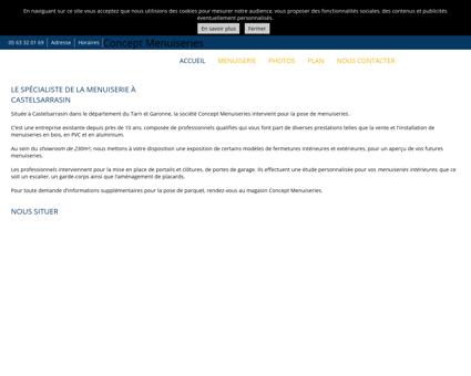 Castelsarrasin - Menuiserie (entreprises) -...