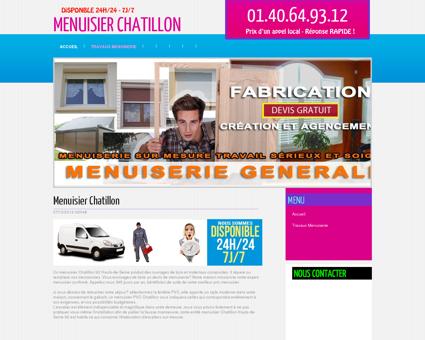 Société Menuisier Chatillon, departement 92...