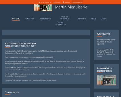 Fenêtres - Martin Menuiserie à Châteauneuf...