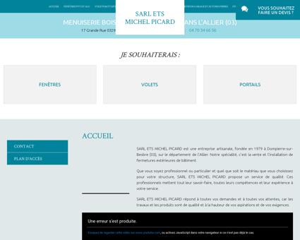 installation menuiserie Dompierre-sur-Besbre ...