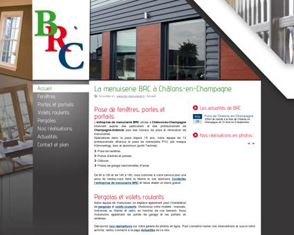 Entreprise de menuiserie BRC : pose de...