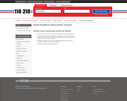 menuiserie à Recologne lès Rioz - 118218