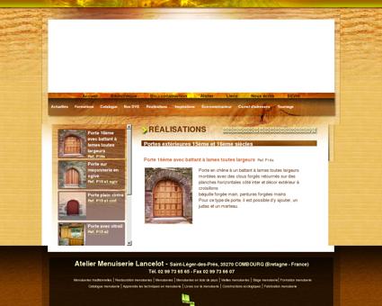 Menuiseries anciennes : fabrication boiseries...