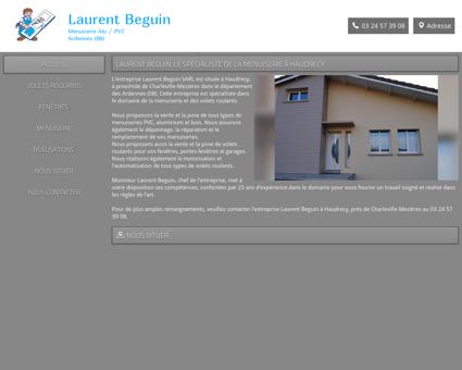 Laurent Beguin SARL - Charleville-Mezières...