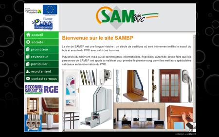 SAMBP - Fabrication et pose de menuiseries...