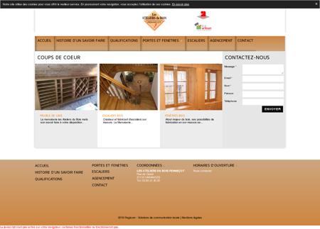 Atelier de menuiserie bois de père en fils...