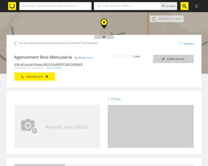 Agencement Bois Menuiserie Caumont sur...