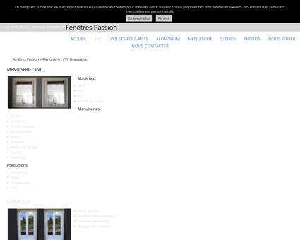 Menuiserie PVC Draguignan - Fenêtres Passion