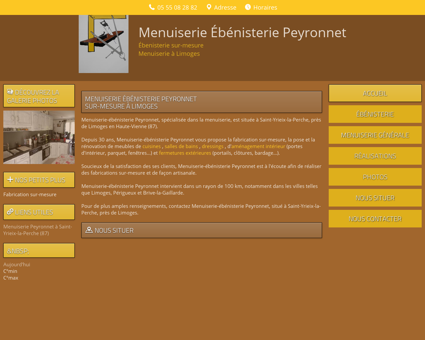 Entreprise Menuiserie | menuiserie-limoges-peyronnet.fr