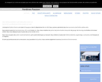 Menuiserie PVC - Fenêtres Passion à...