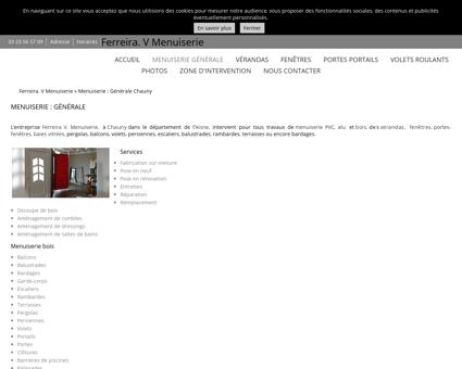 Menuiserie (entreprises) Chauny - Ferreira. V...