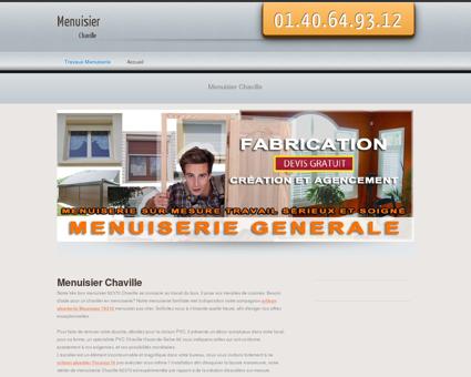 Menuisier Chaville, departement 92 projet et...