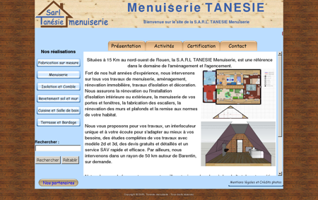 Menuiserie TANESIE, menuisier rouen...