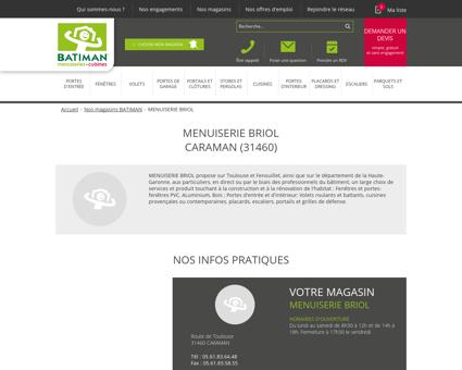 MENUISERIE BRIOL | Batiman - Experts en...
