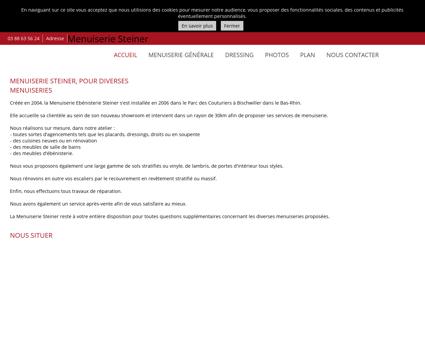 Menuiserie (entreprises) - Menuiserie Steiner...