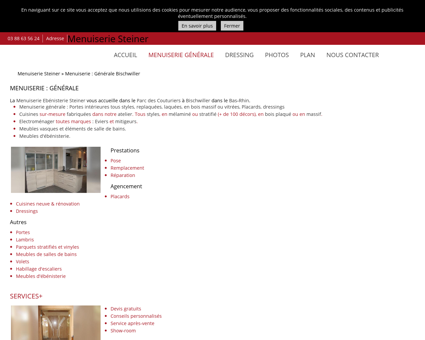 Menuiserie (entreprises) Bischwiller -...
