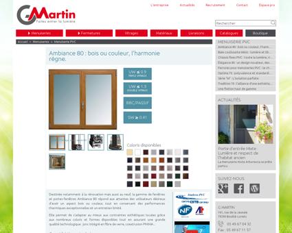 G.MARTIN Fabricant - Portes et fenêtre PVC...