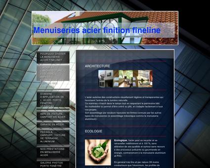 Nos produits - Menuiserie Fineline