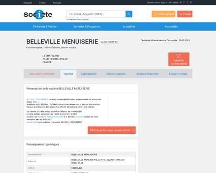 BELLEVILLE MENUISERIE (SAINT MARTIN DE...
