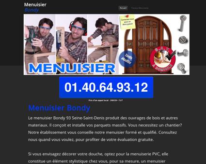 Artisan Menuisier Bondy - projet et tarif gratuit