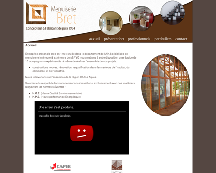 Menuisier agenceur Bourg en Bresse,...